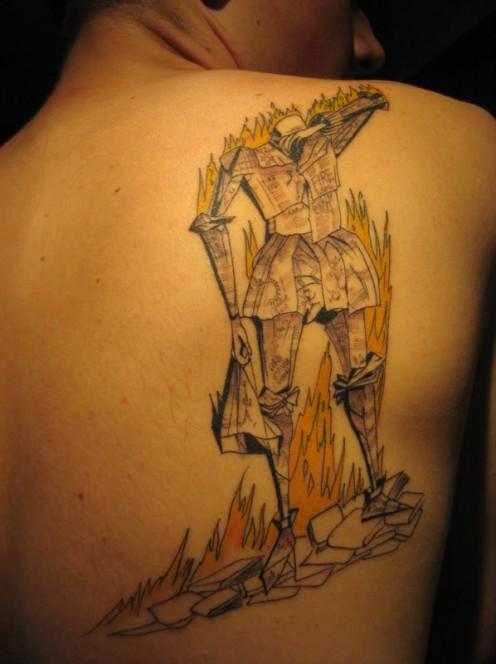 Imagens 10 tatuagens inspiradas em obras liter rias for Fahrenheit 451 tattoo