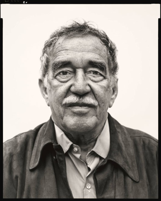 Gabriel García Márquez in Mexico City on March 29, 2004. © The Richard Avedon Foundation.