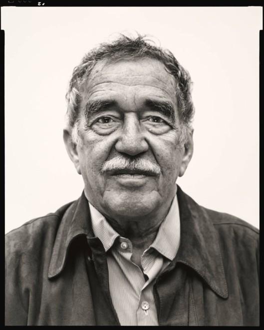 Gabriel García Márquez in Mexico City on March 29, 2004. © The Richard Avedon Foundation.